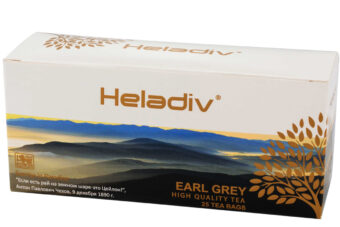 EARL GREY BLACK TEA 25 TEA BAGS