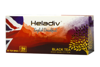 ENGLISH BREAKFAST BLACK TEA (25 TEA BAGS)