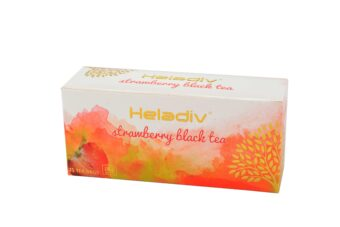 STRAWBERRY BLACK TEA (25 TEA BAGS)