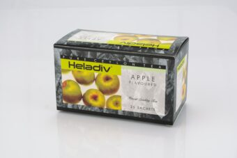 HELADIV APPLE FLAVORED BLACK TEA (PACK OF 5) - 125 TEA BAGS