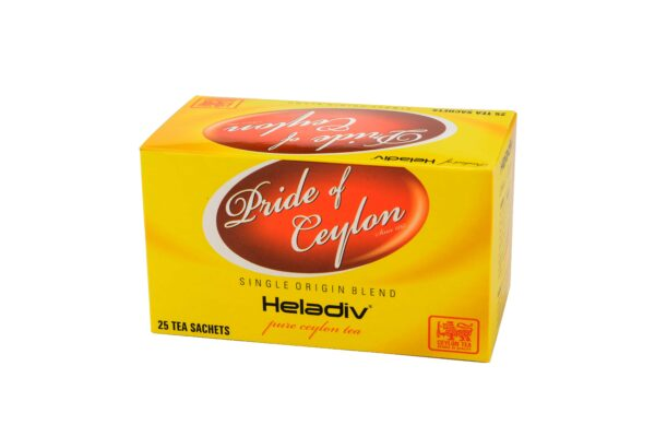 HELADIV PRIDE OF CEYLON 25 DOUBLE CHAMBER TEA BAGS