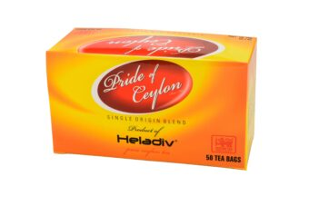 HELADIV PRIDE OF CEYLON 50 DOUBLE CHAMBER TEA BAGS